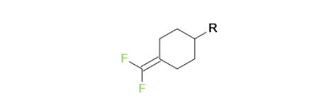Trans trifluoromethylcyclohexane compound